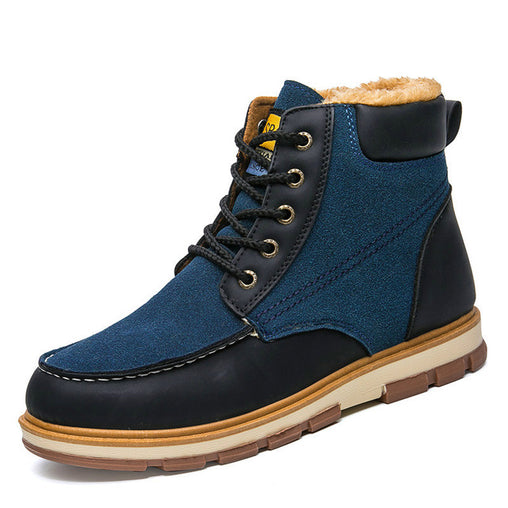 Winter Leather Boots for Men  Waterproof
