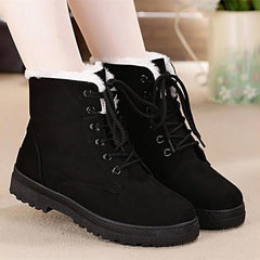 Classic Ankle Boots Women Shoes