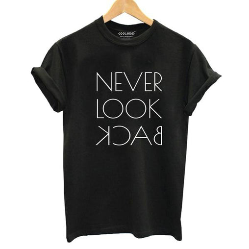 100% Cotton  T- Shirt Women Casual Funny Black