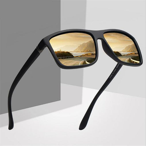 Men Polarized Sunglasses Vintage Driving Movement