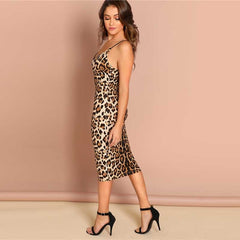 Sexy Leopard  Dresses