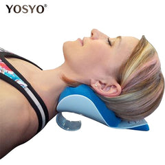 Relaxing Pillow Massage for Neck and Shoulder