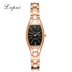 Rose Gold Casual Quartz Watch Bracelet Wristwatches
