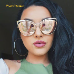 New Fashion Cat Eye luxury  Sunglasses