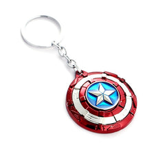 Marvel Avengers 4 Captain America Black Metal Edward