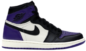 Jordan 1 Court Purple