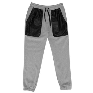 SOUTHPOLE FLEECE PANT WITH FAUX ALLIGATOR DETAIL - MEN'S