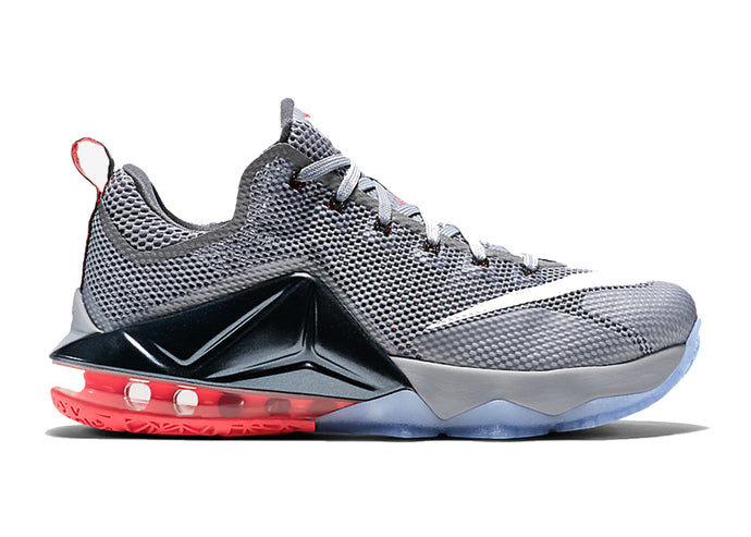 Nike LeBron 12 Low 'Wolf Grey' Youth