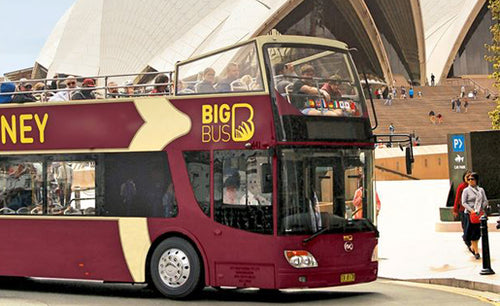 Cheap Discounted Sydney Big Bus Hop-On Hop-Off Tours
