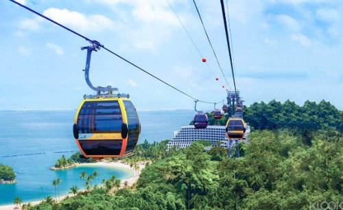 Singapore Cable Car Sky Pass with Meal