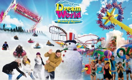 Dreamworld Bangkok Ticket 50% off