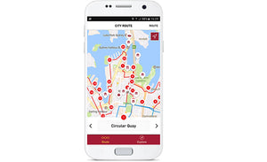 Sydney Big Bus Hop-On Hop-Off Tours (Open-Top)-track app