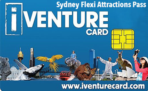 Discounted Cheap iVenture Sydney Flexi Attractions Pass