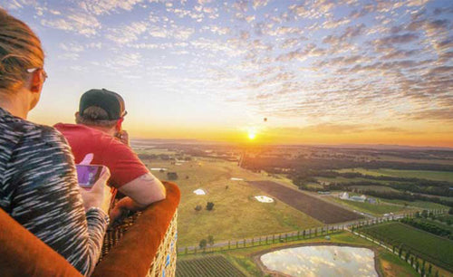 Hunter Valley Sunrise Balloon Flight Cheap Discounted Value Deals