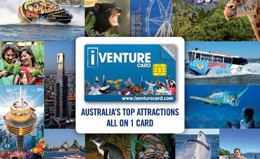 Cheap Discounted iVenture Australia Flexi Attractions Pass
