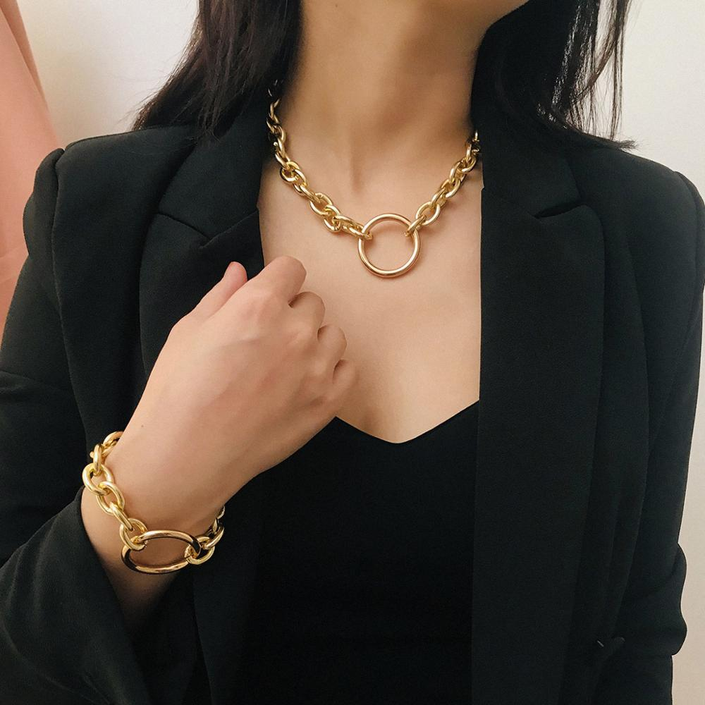 Classy Chunky Chain (w/ Matching Bracelet Available)