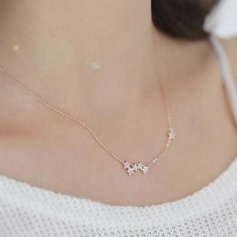 Sparkly Star Pendant Necklace