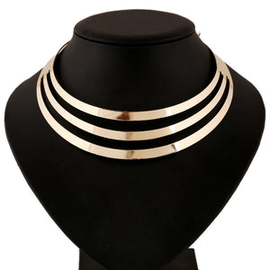 Multi Layer Torque Necklace