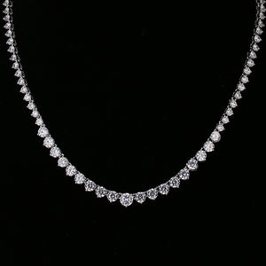 Luxurious Round Cubic Zirconia Necklace
