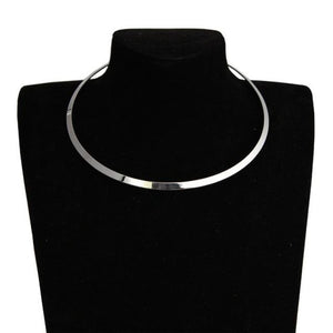 Circle Collar Choker Necklace
