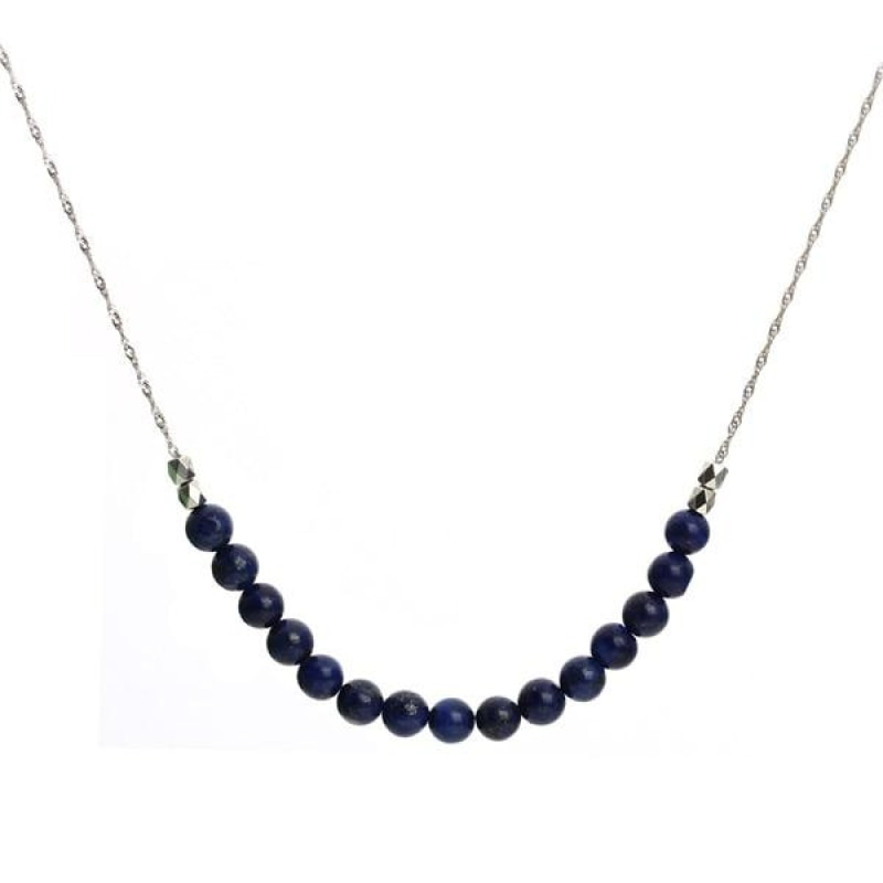 Natural Stone Beads Necklace