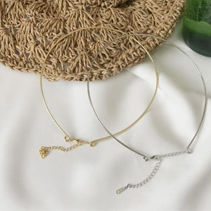 Coil Collar Necklace