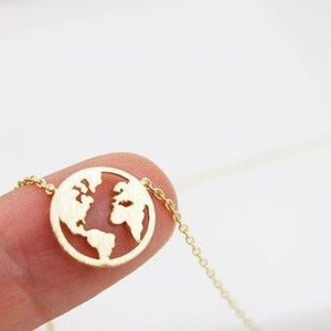 #Teamtrees Globe Necklace (1 tree planted for each sold!)
