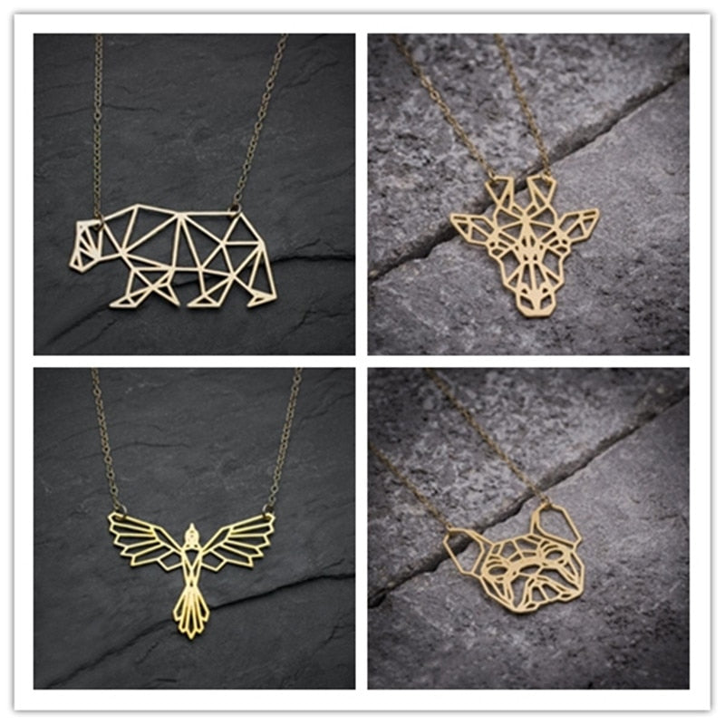 Origami Animal Necklaces (Assortment Available)