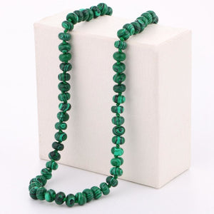 Green Stone Handmade Necklace