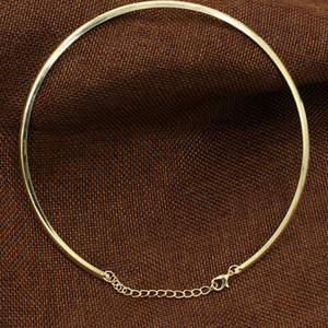 Simple Flat Collar Necklace