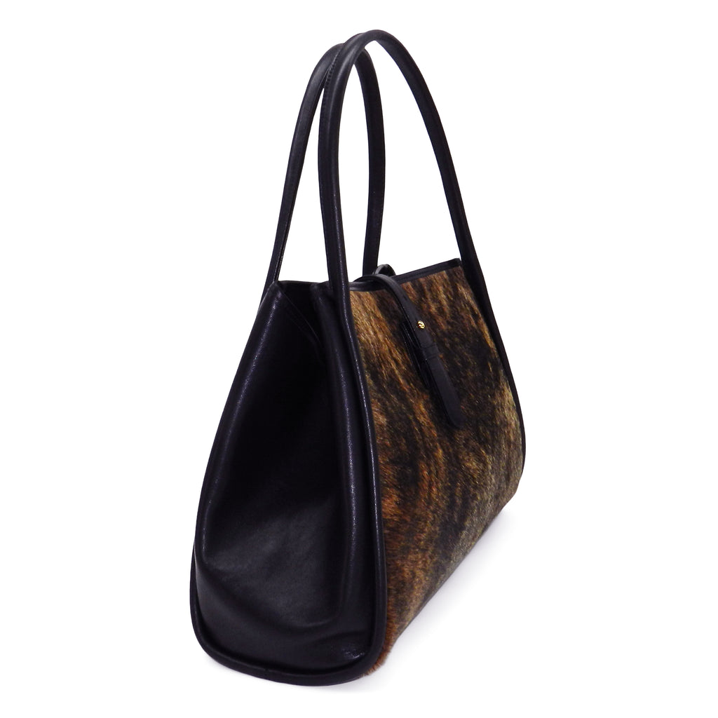 Edie Tote in Brindle Haircalf- email for restock!