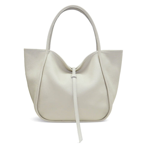 Ellis Hobo Tote in Lamb Buffalo Cowhide
