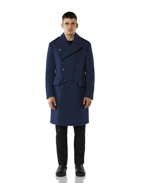 Admiral Coat - Cadet Grey