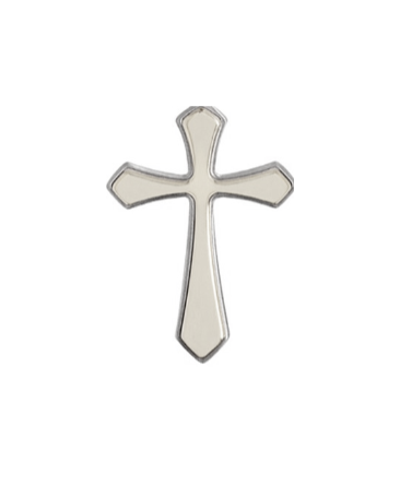 Baby and Children's Crosses:  Tiny, Silver Plated Crosses for Necklaces, Bracelets and Chains