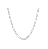 Children's Chains:  Sterling Silver Figaro Chain, 16 inch (40cm)
