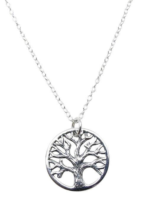 Children's Necklaces:  Sterling Silver Tree of Life Necklaces