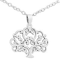 Children's, Teens' and Mothers' Necklaces:  Sterling Silver, Elegant Tree of Life Necklaces