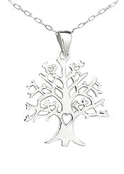 Teens' and Mothers' Necklaces:  Sterling Silver Tree of Life Necklaces