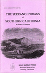 The Serrano Indians of Southern California
