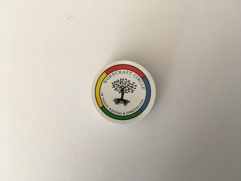 Wordcraft Circle Sticker (Small)