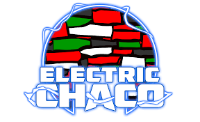 Electric Chaco Sticker (Adobe or Neon Variant)