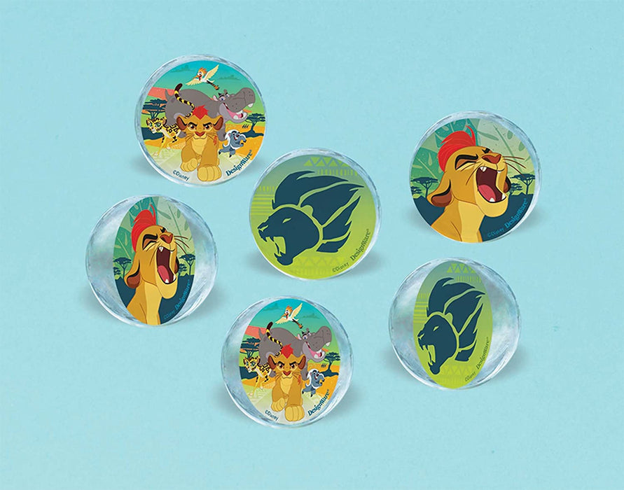 THE LION GUARD BOUNCE BALLS 6CT
