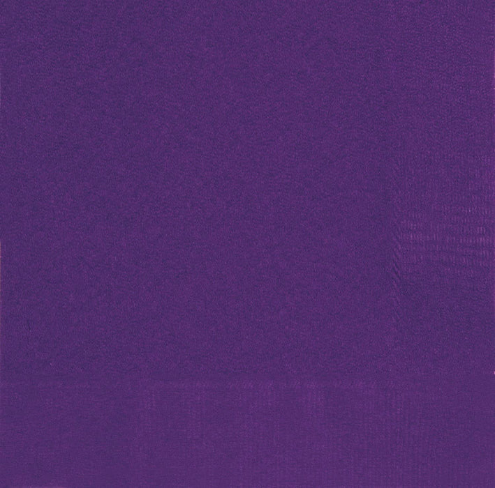 PURPLE BEVERAGE NAPKINS 20CT