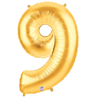 "40"" NUMBER NINE (9) FOIL BALLOON"