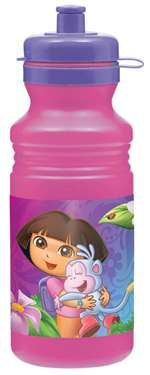 DORA THE EXPLORER WATER BOTTLE  18OZ