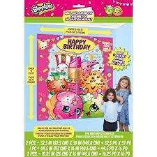 SHOPKINS WALL DECORATING KIT