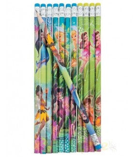 TINKERBELL PENCILS 12CT