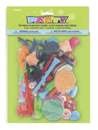 64 PIÑATA FILLER PARTY FAVORS ASSORTED