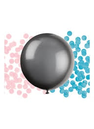 "24"" GENDER REVEAL LATEX BALLOON"