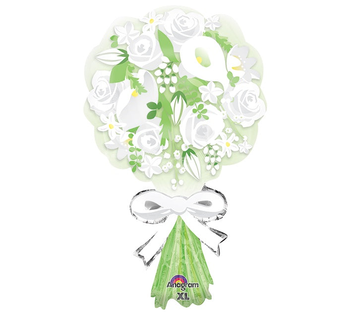 "18"" BOUQUET FOR THE BRIDE FOIL BALLOON"